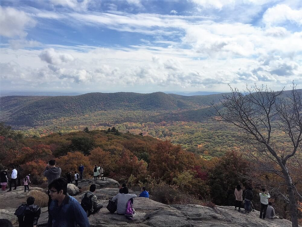 Views from the top of Bear Mountain - The Best Hikes in the Hudson Valley - Two Traveling Texans