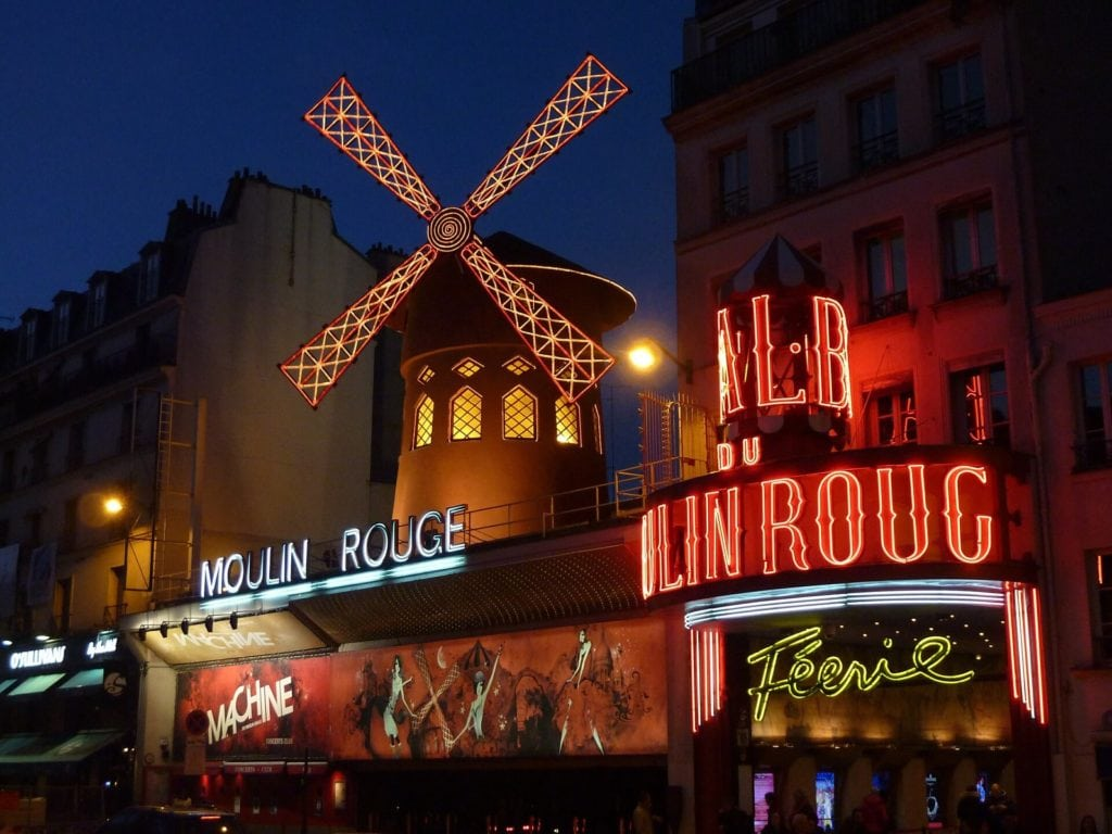 "Ever since I watched the movie, I have wanted to see a show at the Moulin Rouge. ""Paris Bucket List Ideas"" - Two Traveling Texans"