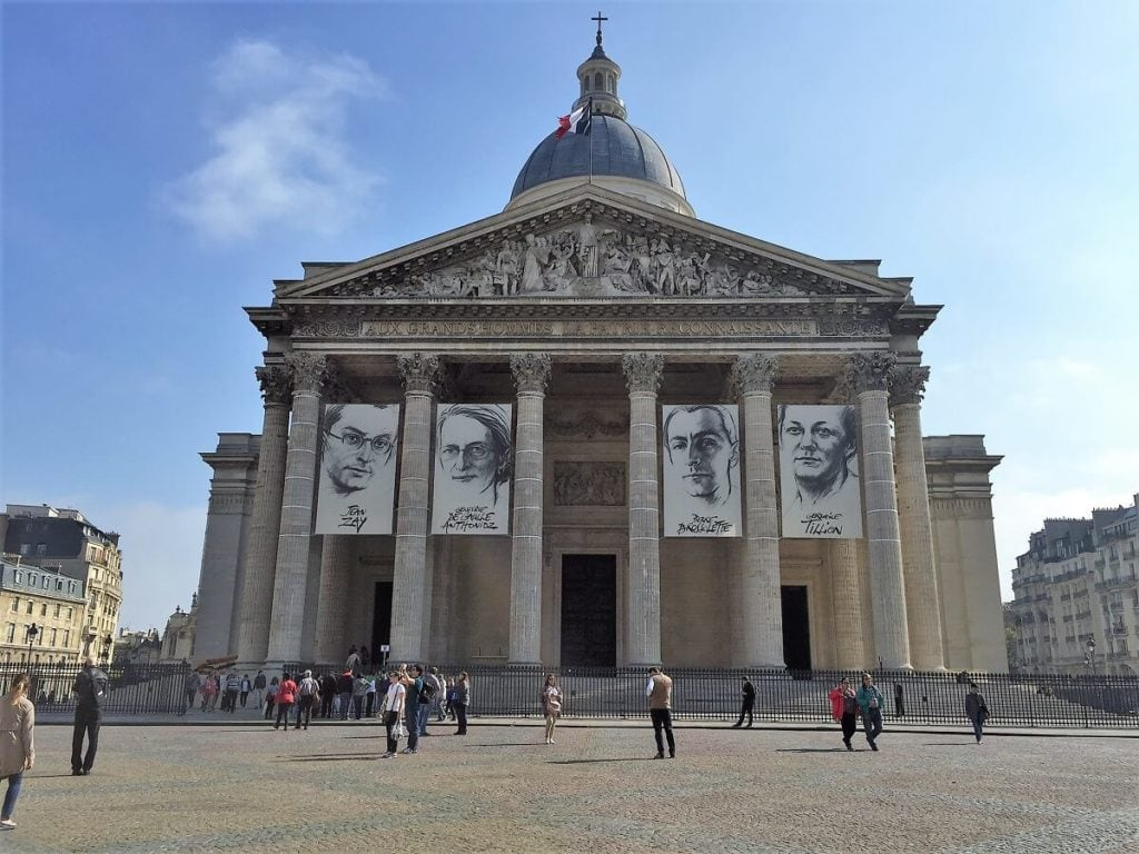 Paris Pantheon - Paris Bucket List Ideas - Two Traveling Texans
