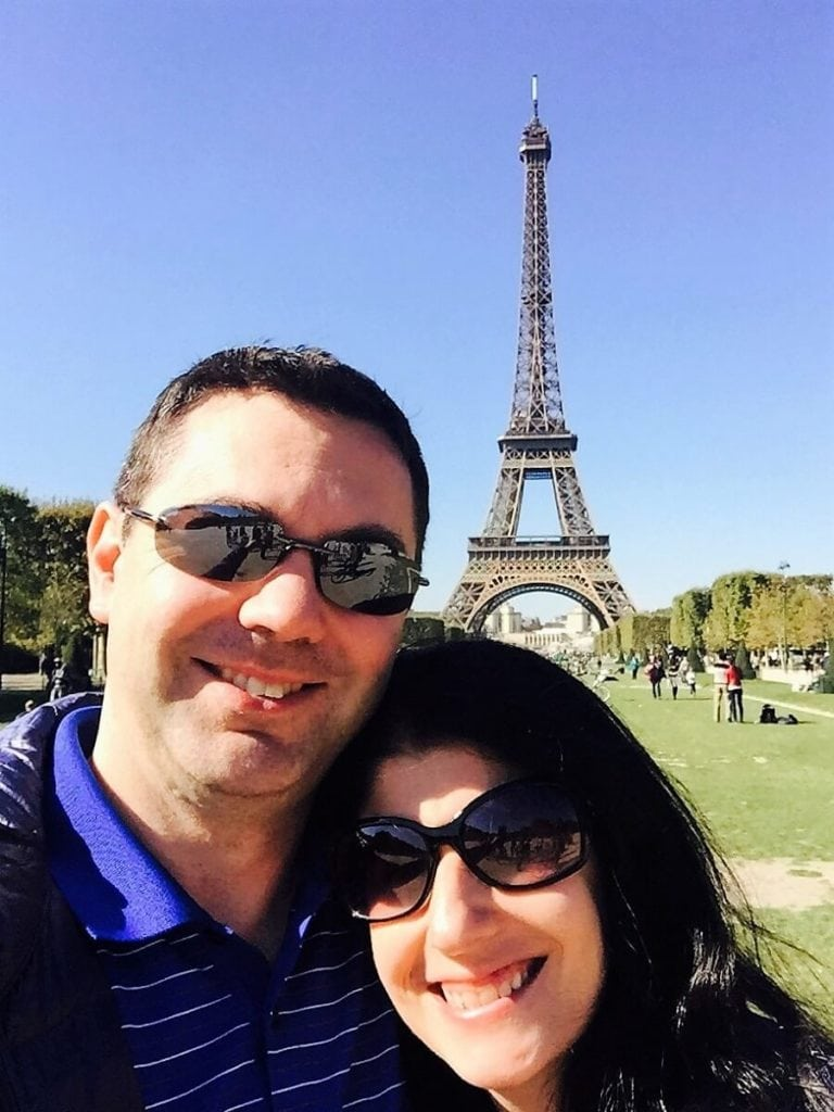 Selfie with Eiffel Tower - Paris Bucket List Ideas - Two Traveling Texans