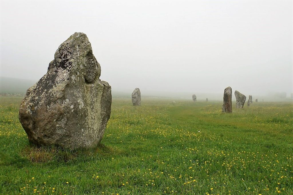 "The West Kennet Avenue connects the Avebury Stone Circle and the Sanctuary. - ""Avebury and Nearby Neolithic Sites in Wiltshire, England"" - Two Traveling Texans"
