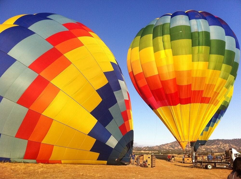Hot Air Balloon - Things to Do in Napa Besides Wine Tasting