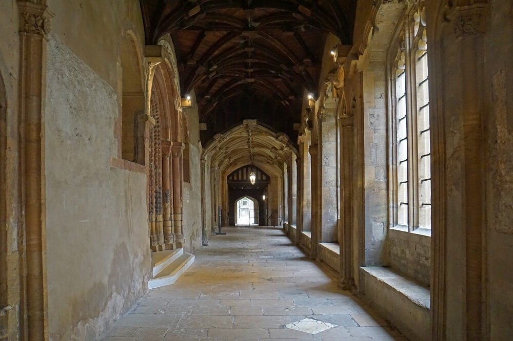 Christ Church Cloisters - Best Way to Visit Christ Church College - Two Traveling Texans