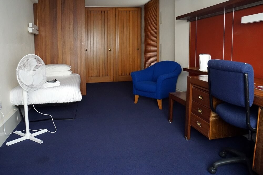 Christ Church College Oxford Dorm Room - Two Traveling Texans