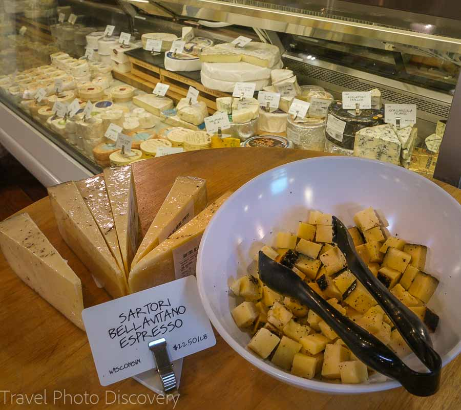 Cheese from the Dean and Deluca Market - Things to Do in Napa Besides Wine Tasting