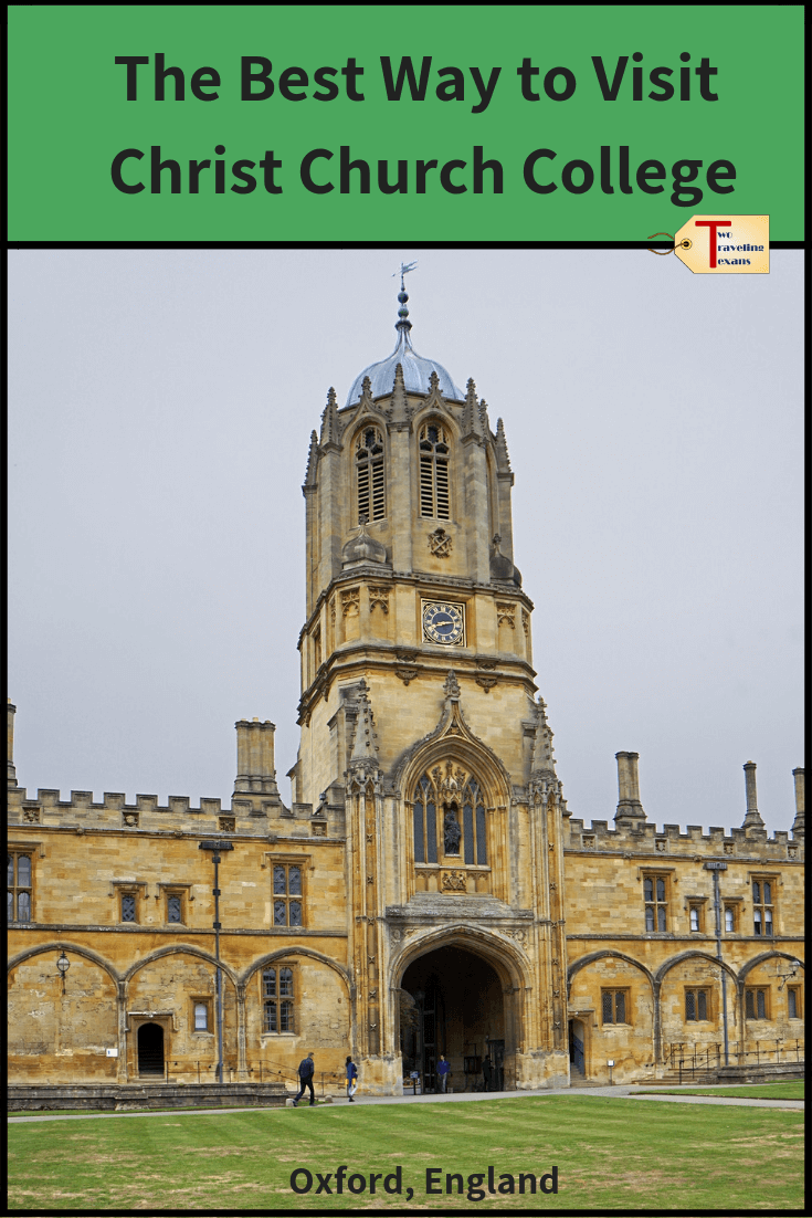 tom tower at Christ Church College in Oxford