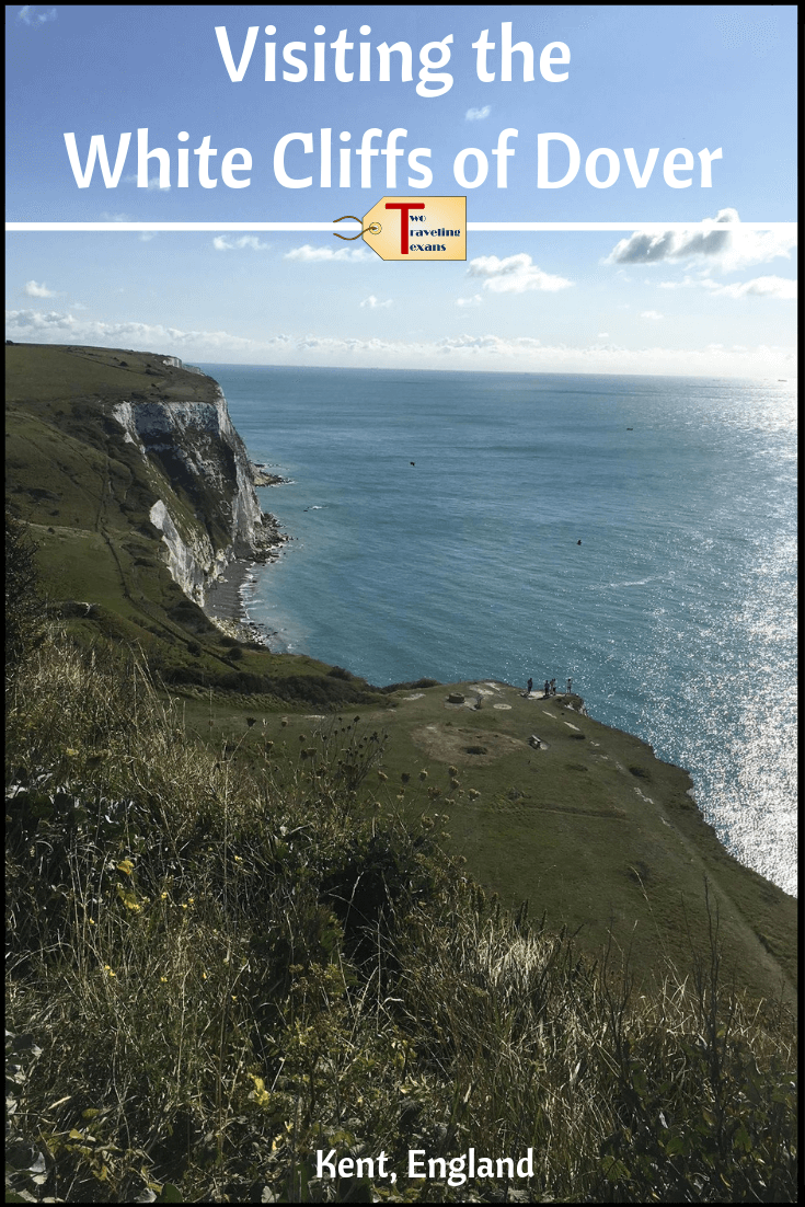 Thinking of visiting the White Cliffs of Dover? Find out what to see at the Dover Cliffs, how to get from London to the White Cliffs of Dover, and why the cliffs are a must visit in my Dover Cliffs Guide | White Cliffs of Dover England | White Cliffs of Dover Kent | Dover Cliffs England | Dover Cliffs Hike | Walk the White Cliffs of Dover | White Cliffs of Dover Travel | Dover Cliffs England UK #travel #hiking #england