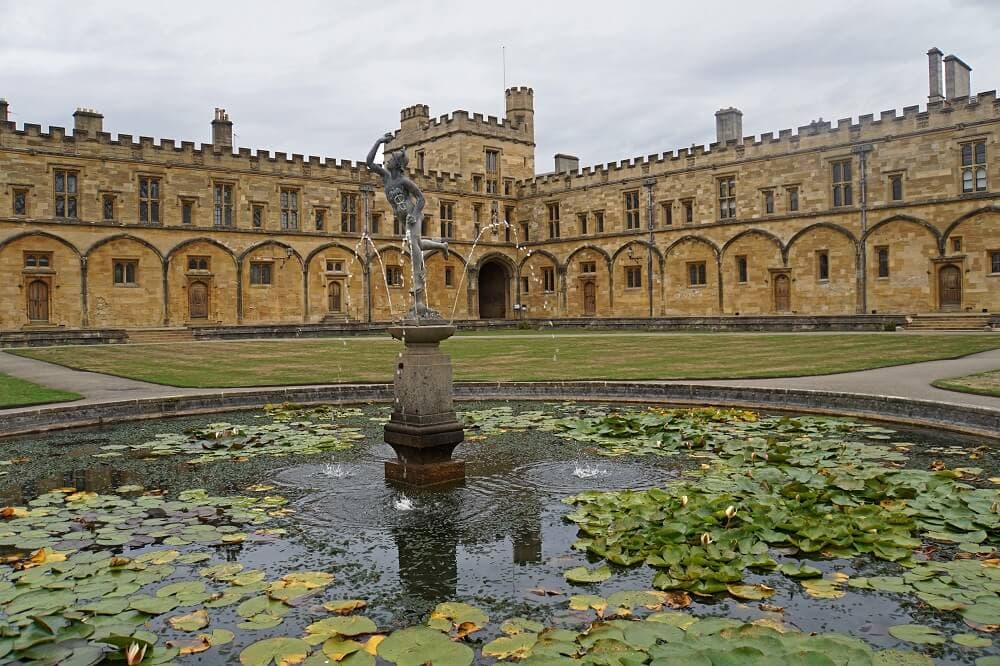 Tom Quad - Best Way to Visit Christ Church College - Two Traveling Texans