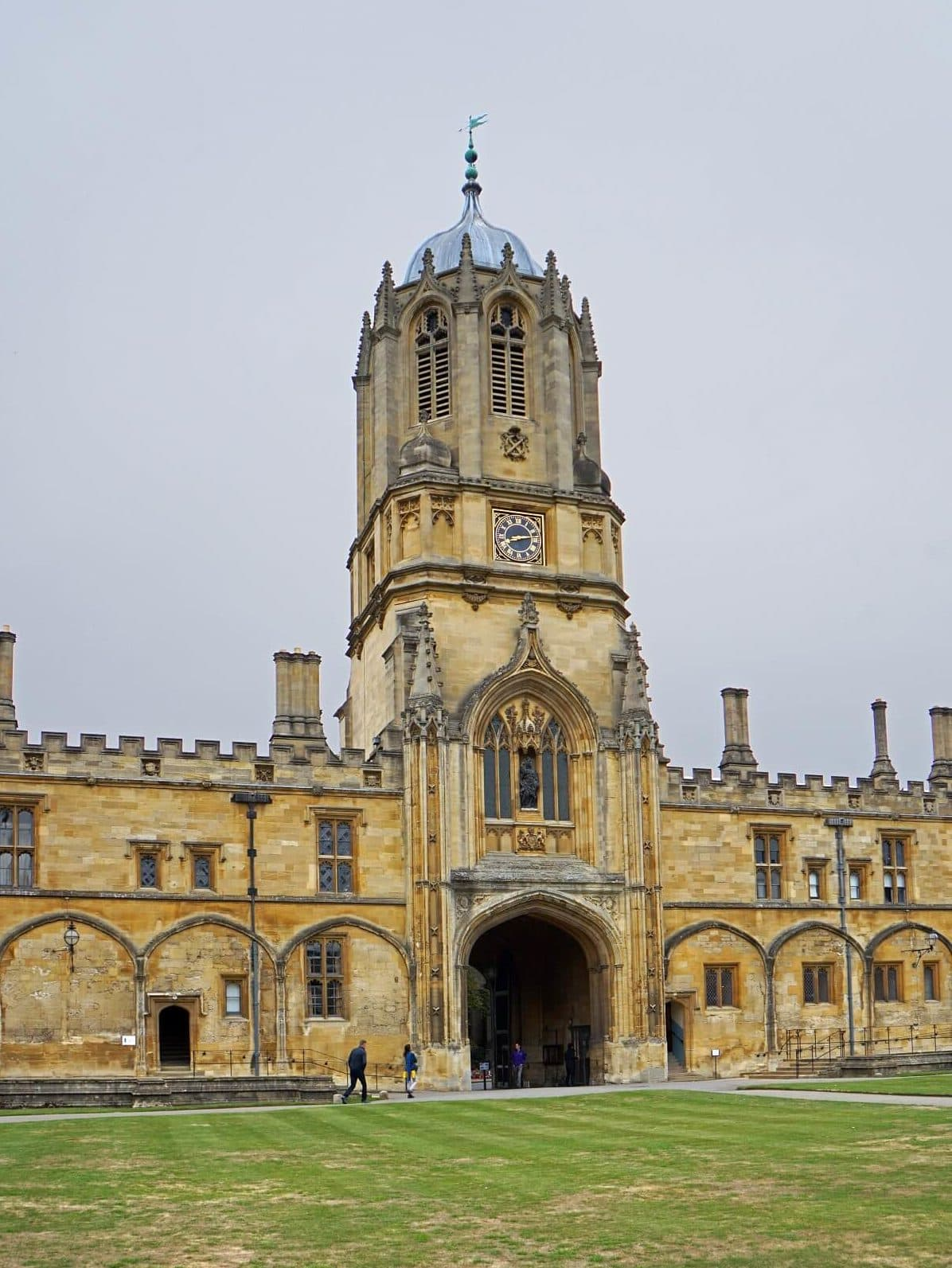 Tom Tower - Best Way to Visit Christ Church College Oxford - Two Traveling Texans