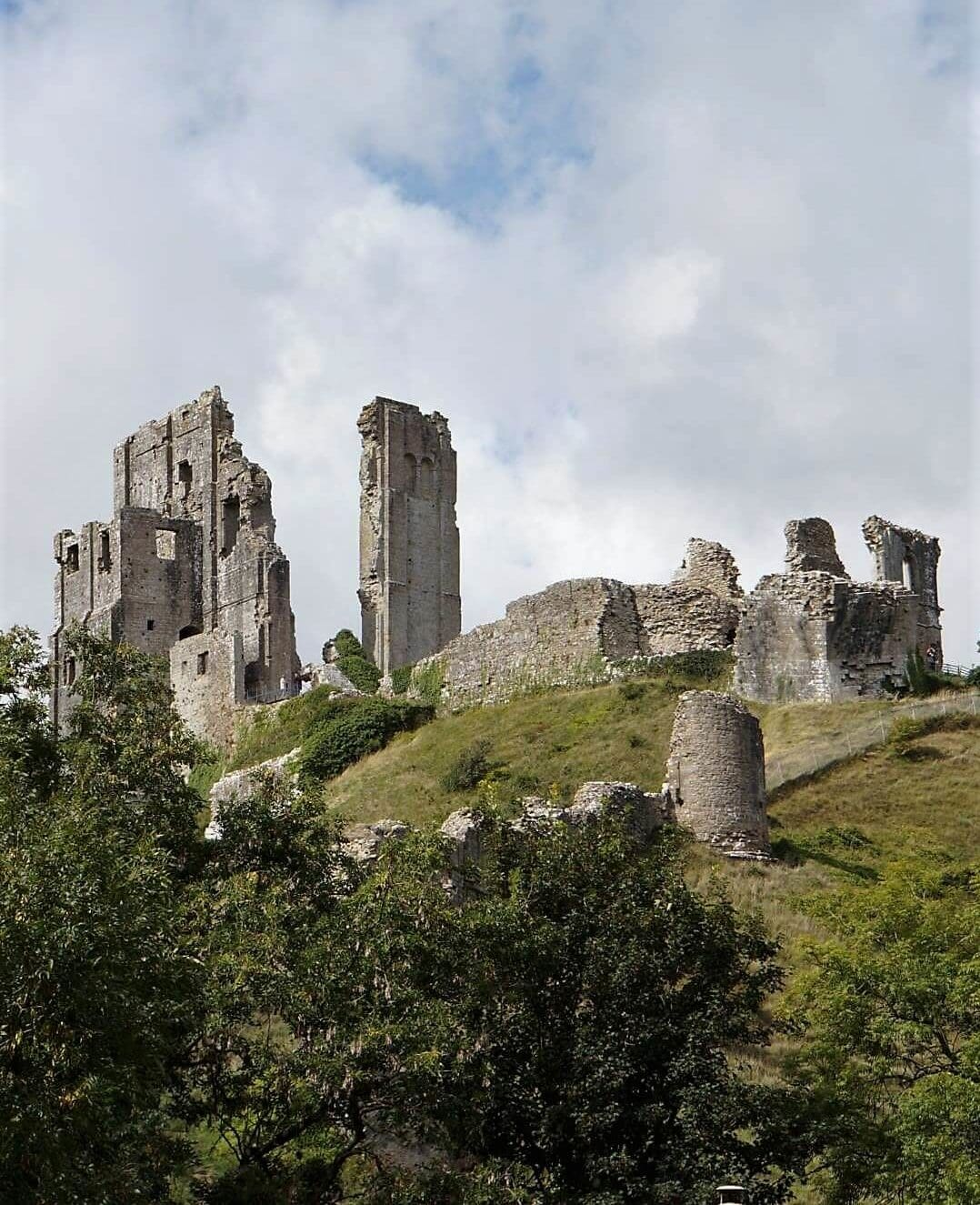 Corfe Castle - Sea Train Adventure - Two Traveling Texans