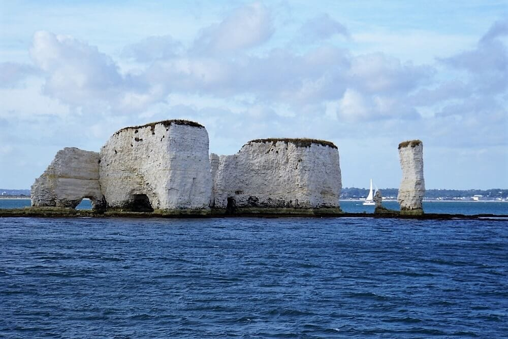 Old Harry's Rocks - Sea Train Adventure - Two Traveling Texans