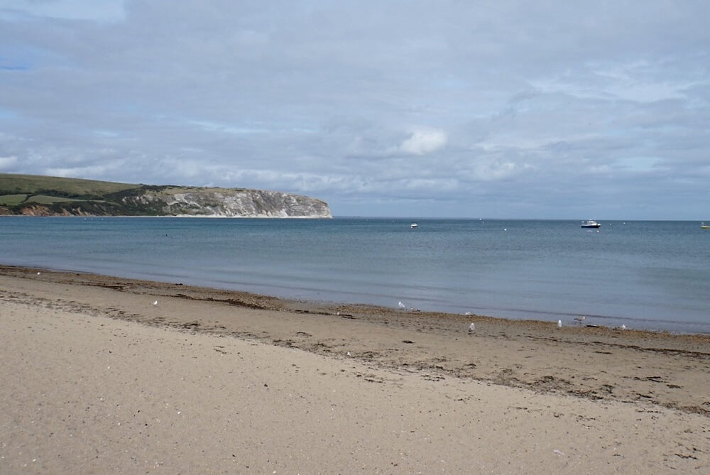 Swanage Beach - Sea Train Adventure - Two Traveling Texans