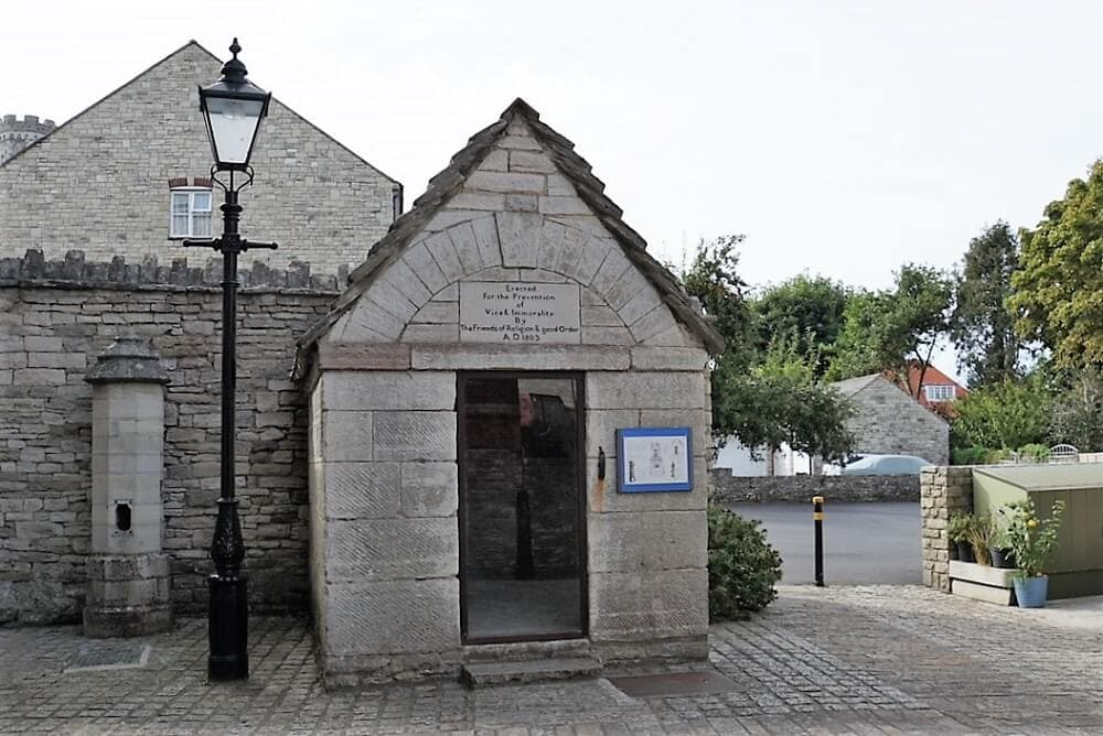 Swanage Gaol - Sea Train Adventure - Two Traveling Texans