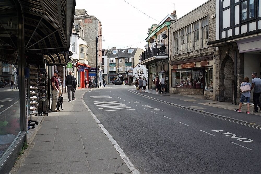 street in Swanage - Sea Train Adventure- Two Training Texans