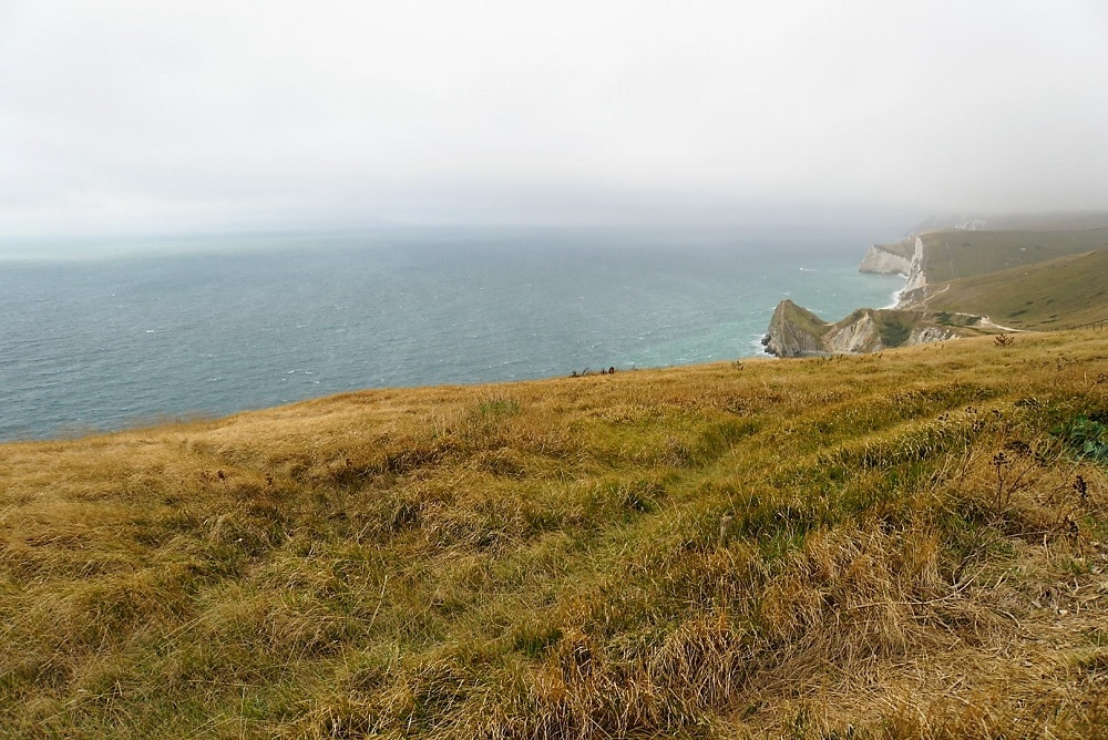 Jurassic Coast View - Durdle Door and Lulworth Cove - Two Traveling Texans