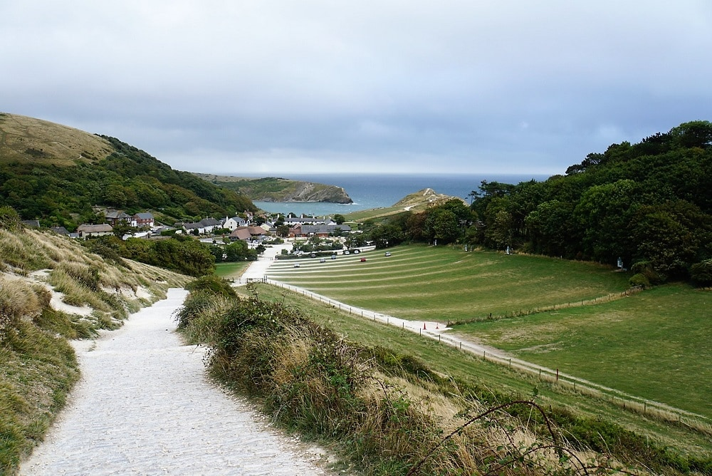 View of Lulworth Cove - Durdle Door and Lulworth Cove - Two Traveling Texans