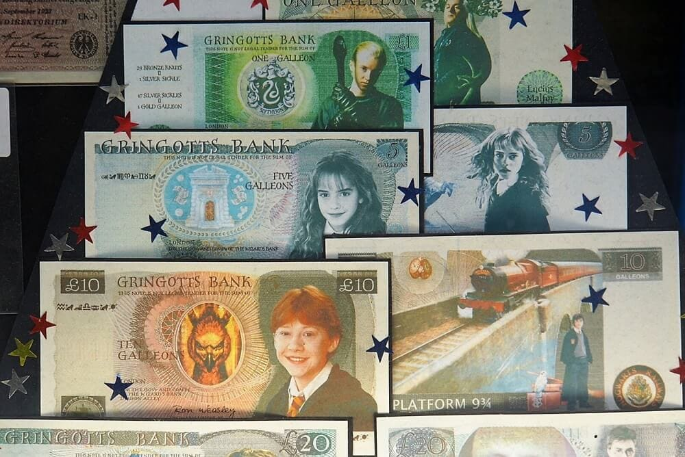 Harry Potter Money - Harry Potter Tour in London - Two Traveling Texans