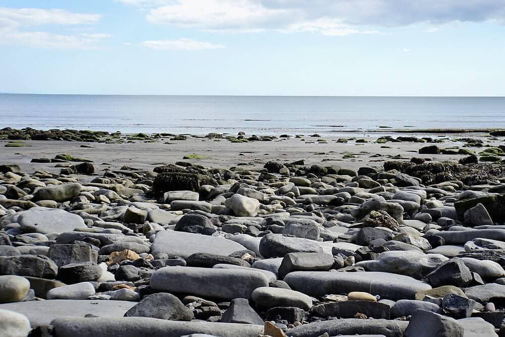 beach near lyme Regis