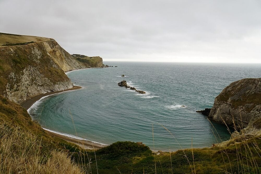 Man O' War Beach - Durdle Door and Lulworth Cove - Two Traveling Texans
