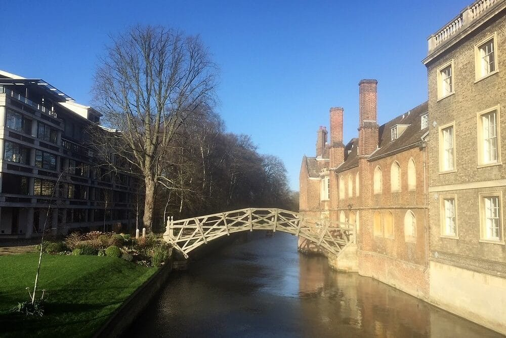 Mathematical Bridge - Visit Cambridge University - Two Traveling Texans