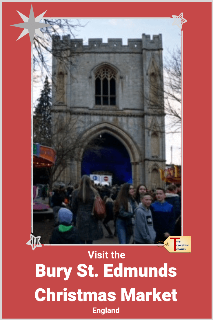 Want to visit a fabulous Christmas Market in Suffolk England? Read about our experience at the Bury St Edmunds Christmas Market and get tips for your visit. | Bury St. Edmunds Christmas Fayre | Bury Christmas Market | Bury Christmas Fayre | Bury Xmas Market | Christmas Markets in England | Christmas Markets in the UK | Best christmas markets | Suffolk Christmas Events #christmasmarket #england