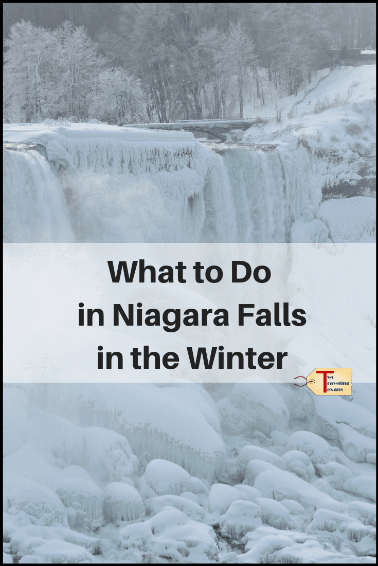 Thinking about visiting Niagara Falls during the winter? Find out more about what to expect and things to do in Niagara Falls in the winter. | Niagara Falls winter | Niagara Falls winter festival of light | Niagara Falls winter things to do in | Niagara falls winter new york | niagara falls winter canada | Niagara ice wine festival | #niagarafalls #waterfalls #wintertravel #winetasting