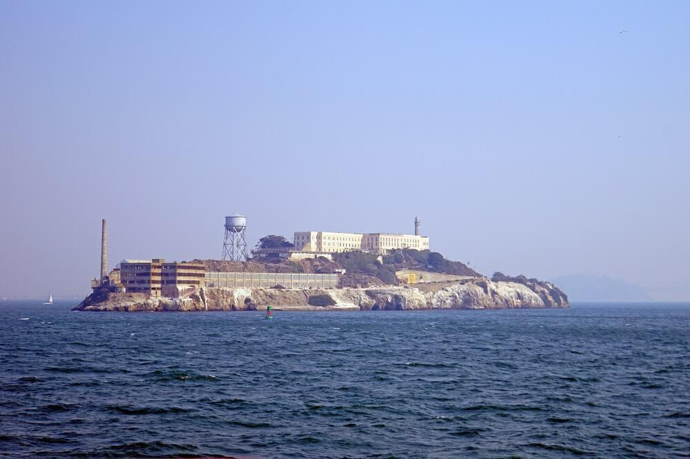 Alcatraz Island as seen on our San Francisco Bay tour