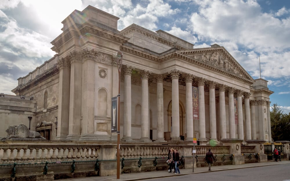 The Fitzwilliam Museum - Day Trip to Cambridge - Two Traveling Texans