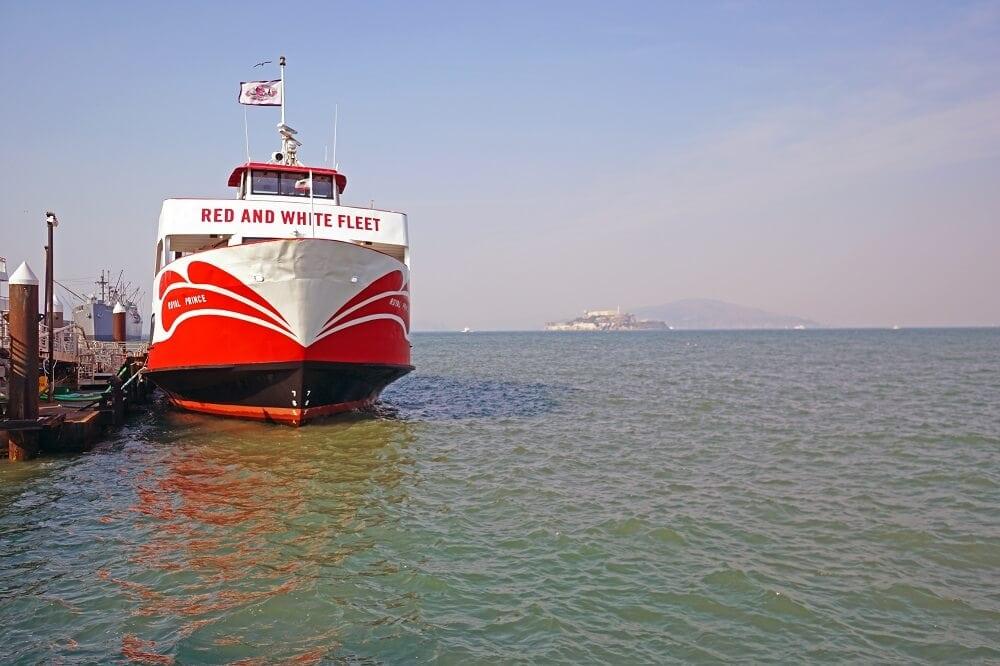 Our San Francisco Bay Tour Boat