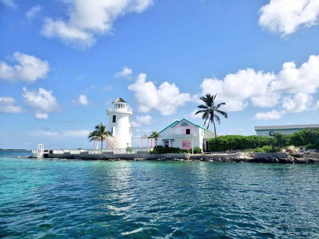 Pearl island in Nassau