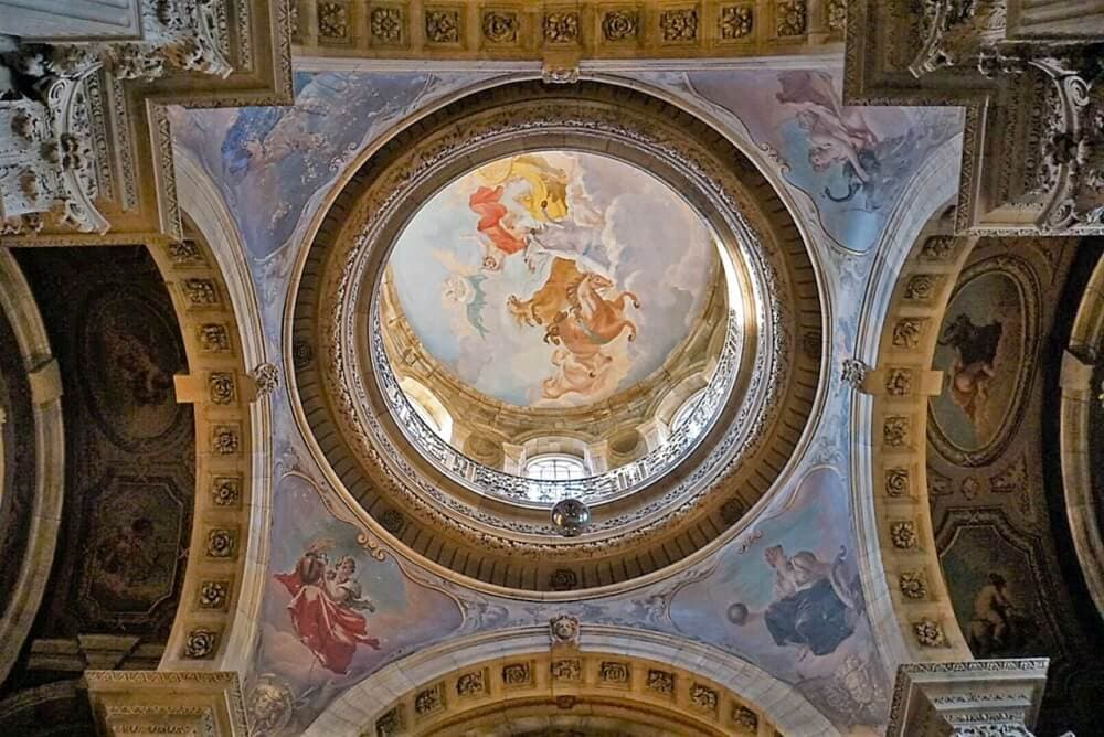 Dome in the Great Hall in Castle Howard - Two Traveling Texans