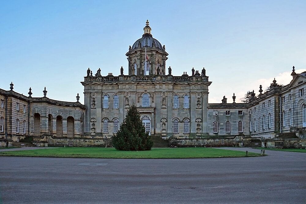 The front of the Castle Howard House.