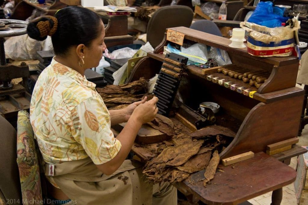 cigar making in Nassau