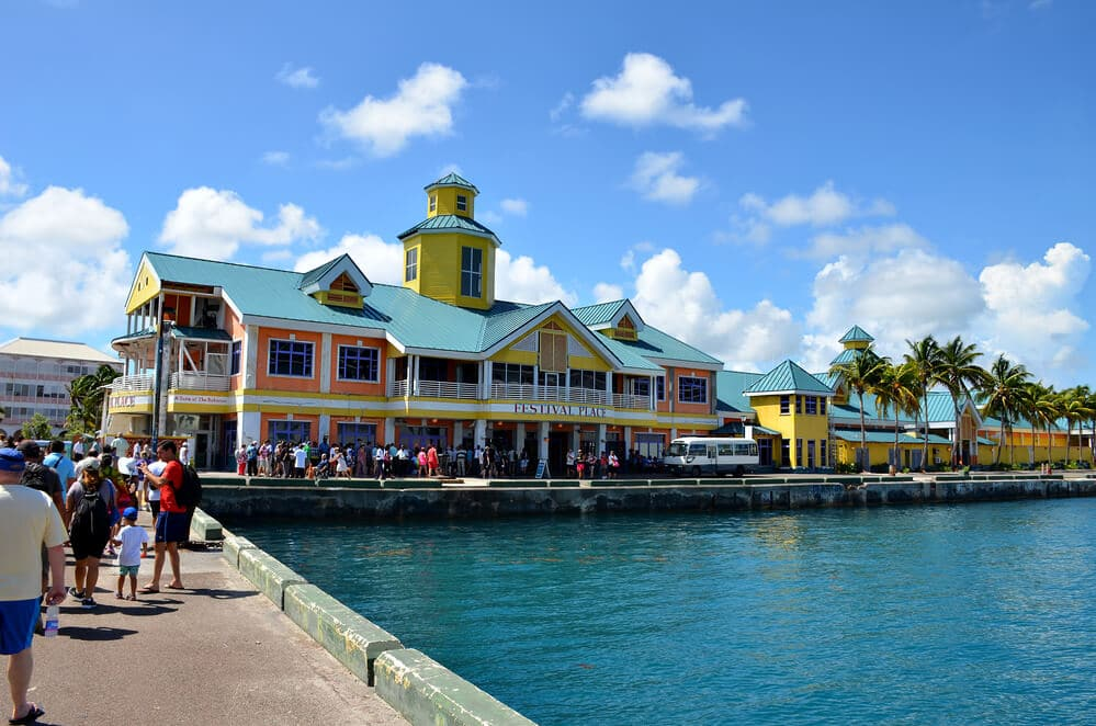 Festival Place at the Nassau Cruise Port