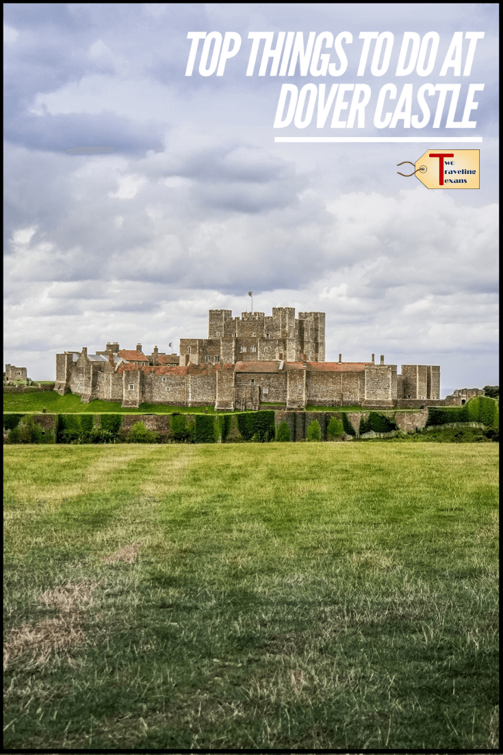 Thinking of doing a Dover Castle day trip? Click to learn more about Dover Castle history, things to see at Dover Castle and how to get to Dover Castle from London. #castles #history #englandtravel #dover | Dover castle england | dover castle interior | dover castle kent | dover castle tunnels | dover castle church | roman lighthouse