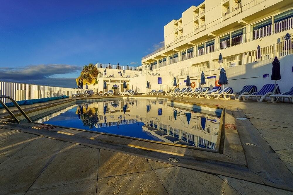 Pool at the Holiday Inn Algarve