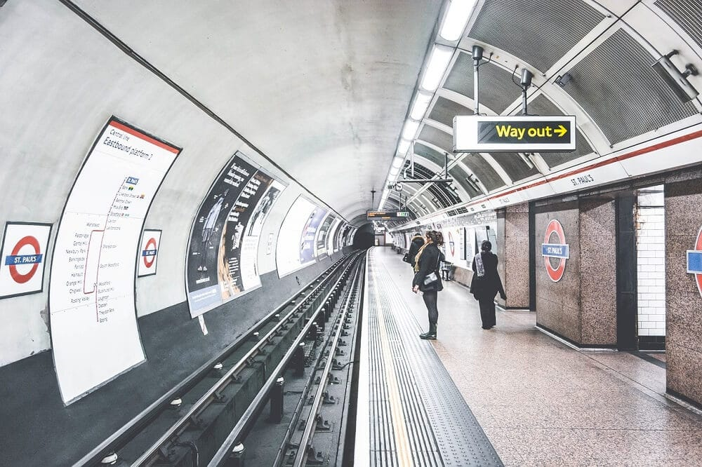 Taking the Tube from Heathrow to London