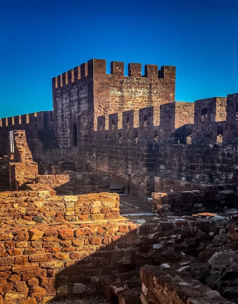 Silves Castle walls