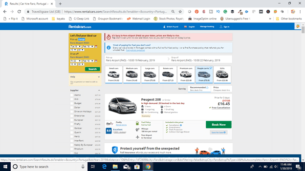 carrental.com screenshot