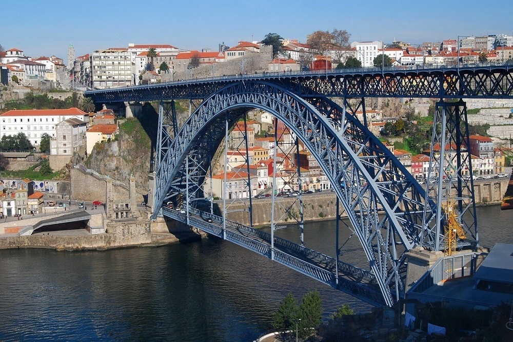 Luiz I Bridge Porto Portugal