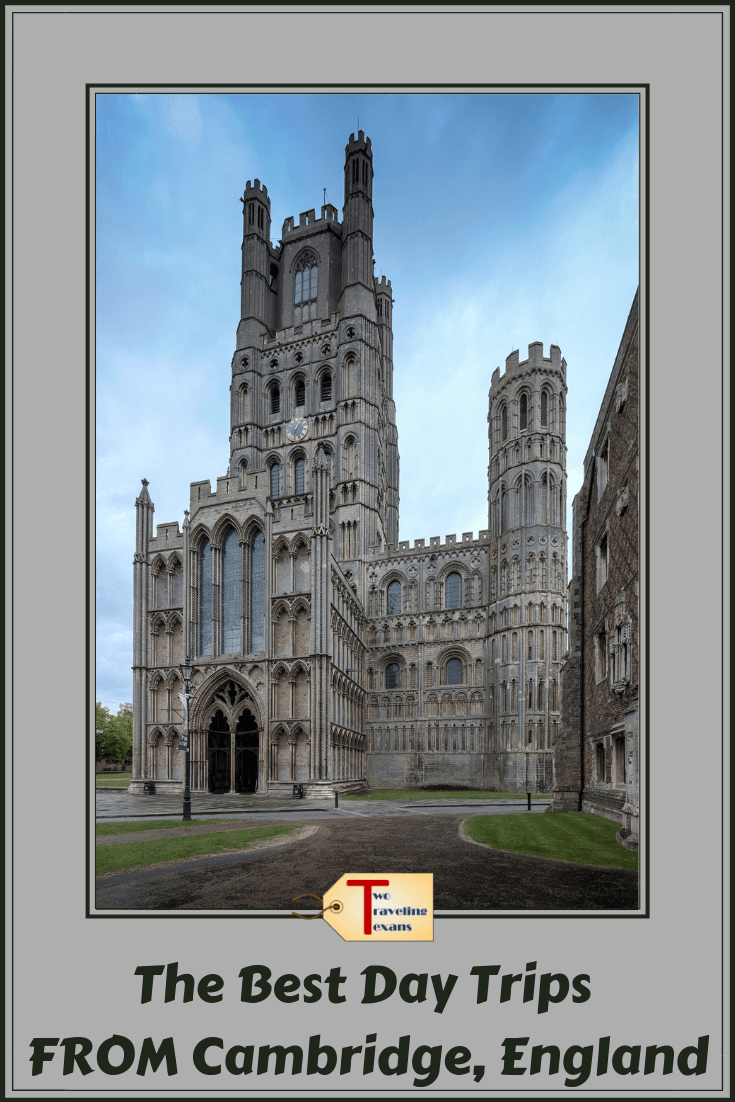 ely cathedral with text