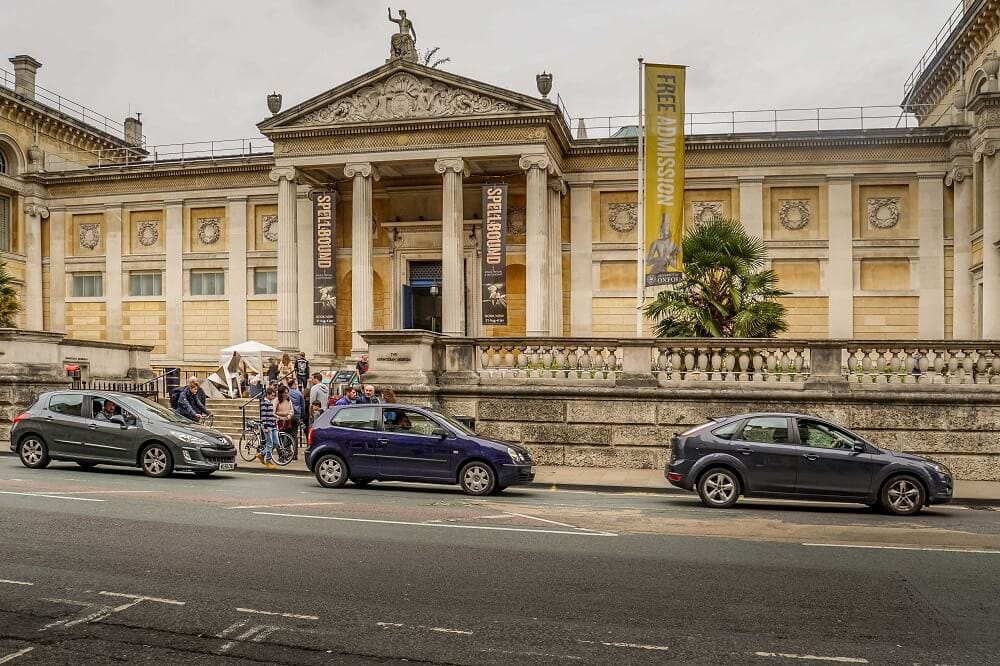 Ashmolean Museum in Oxford