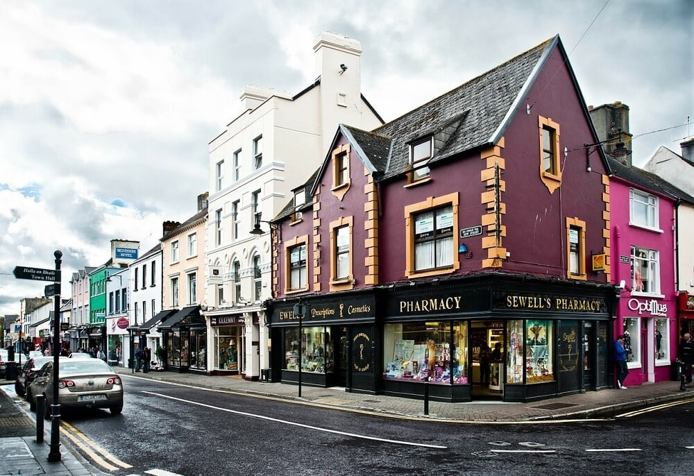 The town of Killarney is a popular base to do the Ring of Kerry. - Best Places to Stay along the Ring of Kerry