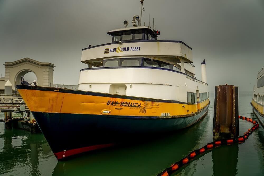 Angel Island ferry boat
