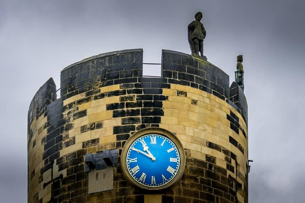 Alnwick Castle Clock Tower