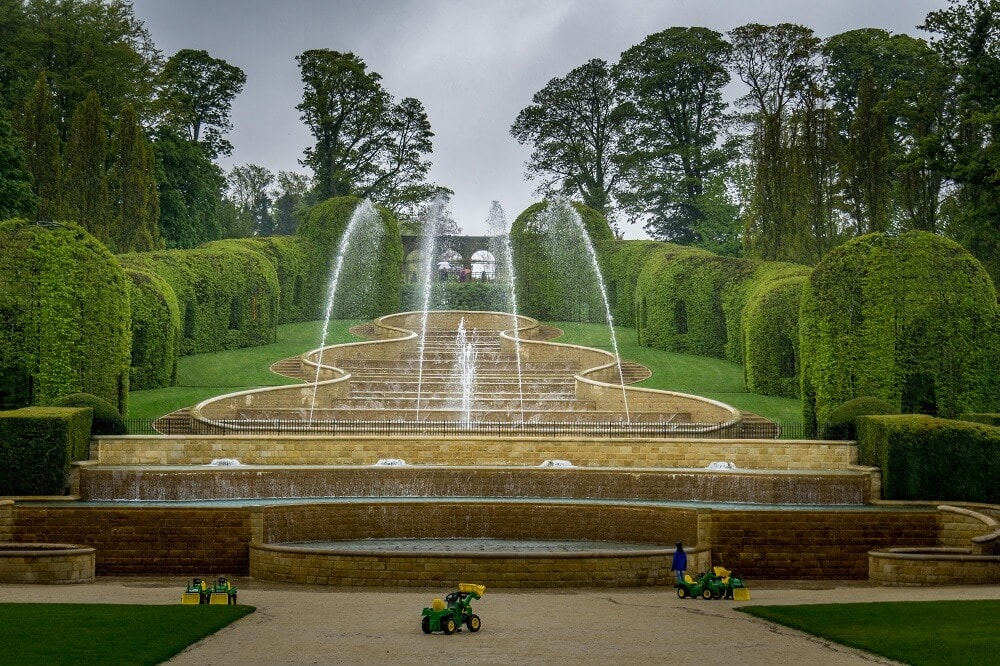 Grand Cascade at Alnwick Gardens