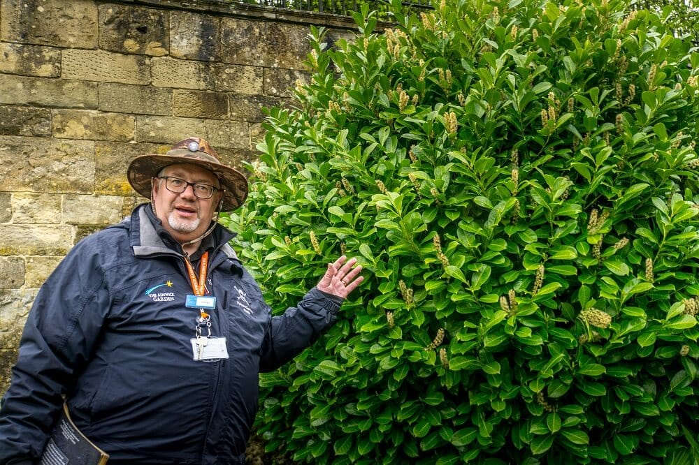Alnwick Poison Garden tour guide
