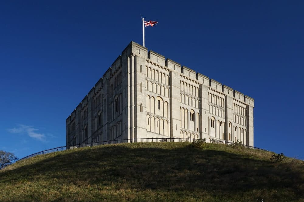 view of Norwich Castle