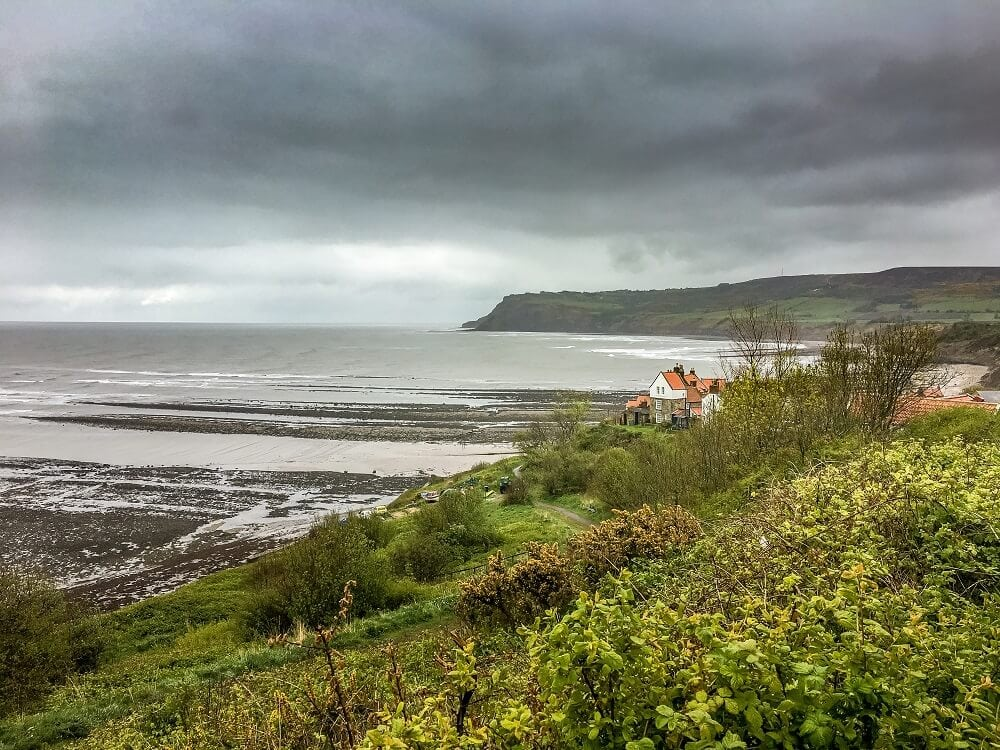 Robin Hood's Bay in Yorkshire England