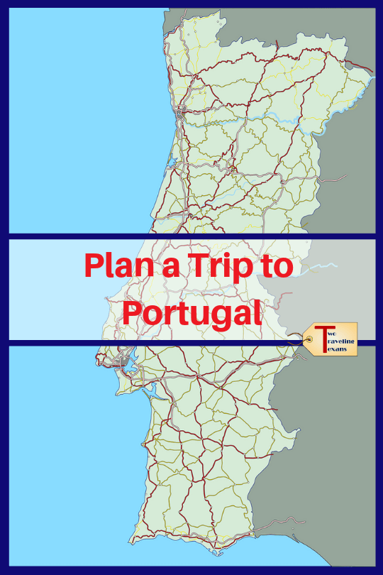 map of portugal with text overlay